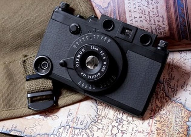 Gizmon iCA Military Edition Case: iPhone protection with a Cold War era spy camera vibe