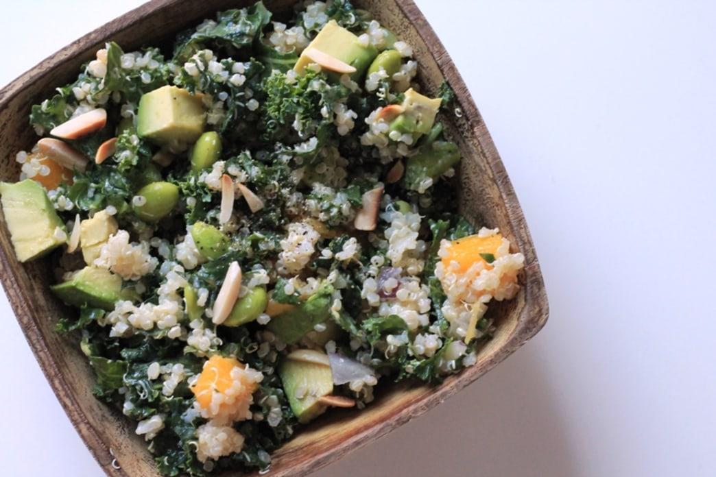 Make this: quinoa kale salad