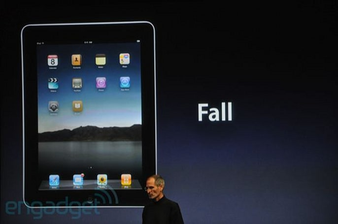 iPhone OS 4 not coming to the iPad until the fall