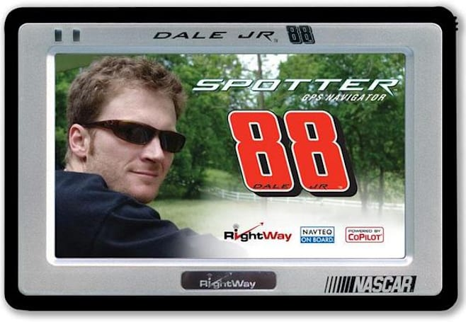Transplant's Dale Earnhardt Jr. GPS will get you where you're goin', good buddy