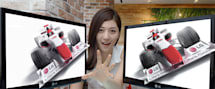 LG's 20-inch DX2000 3D monitor uses eye tracking, don't need no glasses to be enjoyed