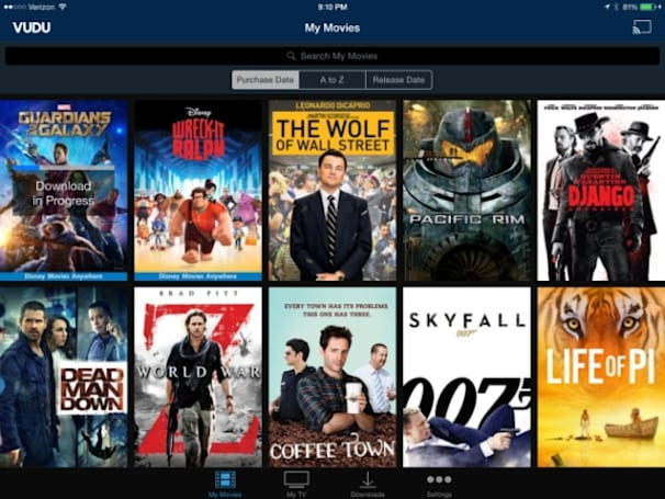 Vudu's digital movie library is rebuilt and easier to use on iOS