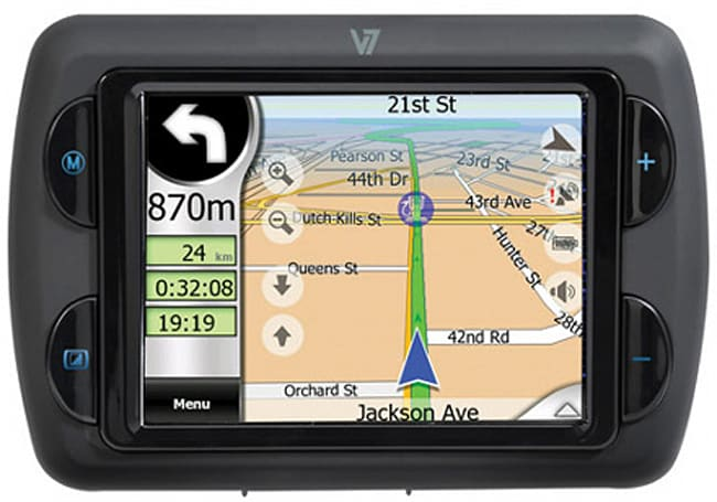 V7 offers up budget-minded Navigator 1000 GPS unit