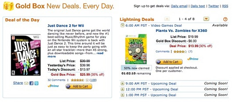 Yes, another set of Amazon game deals today