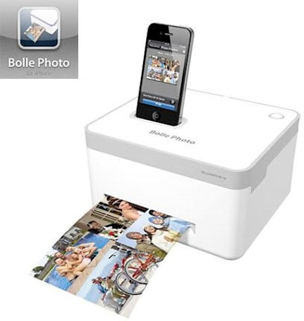 Bolle BP-10 printer dock for iPhone does one thing, and one thing only