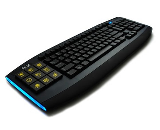 OCZ rolls out Sabre OLED gaming keyboard