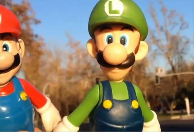 Voice of Mario meets Instagram in funny clips