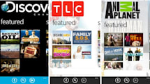 Discovery launches trio of TV streaming apps for Windows Phone