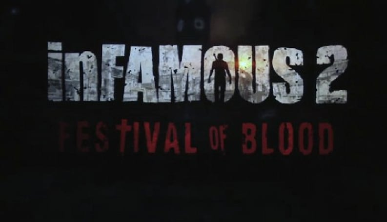 Infamous 2: Festival of Blood gets Truly Bloody this October [update: trailer!]