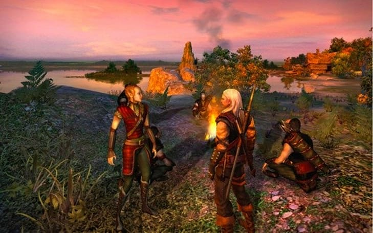 Recent retail listings for first Witcher on consoles a 'mistake'