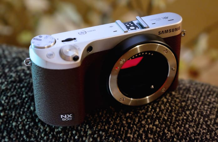 Samsung's NX500 camera delivers 4K video in a small package