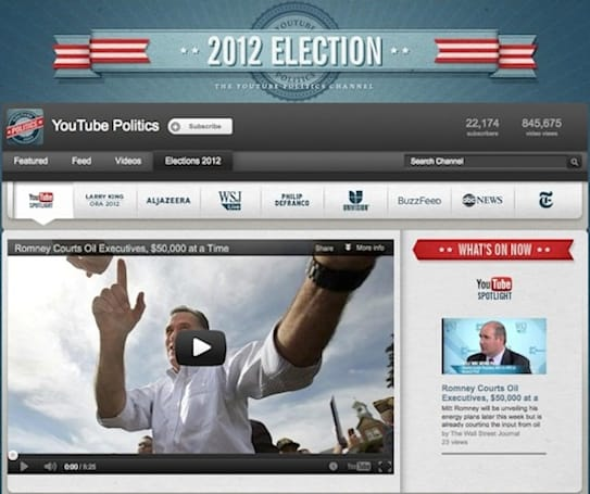 YouTube's Elections Hub is a one-stop channel for the latest US political happenings
