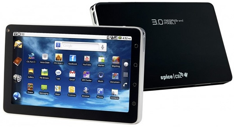 CSL's $500 Spice Mi700 DroidPad runs Froyo, looks awfully familiar