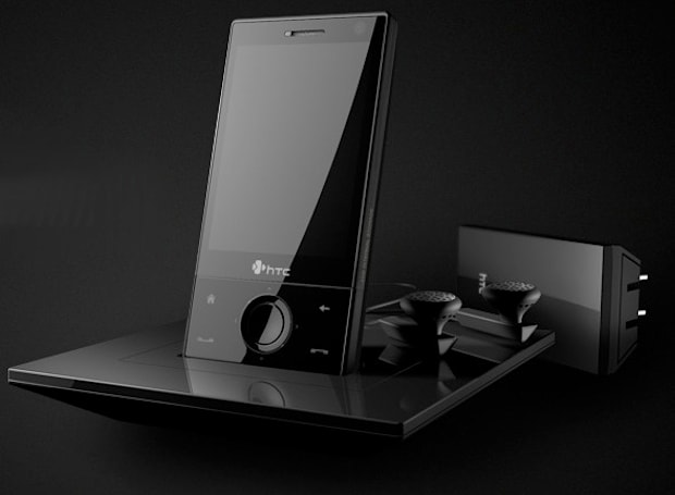 HTC Touch Diamond dock stealthily makes the scene
