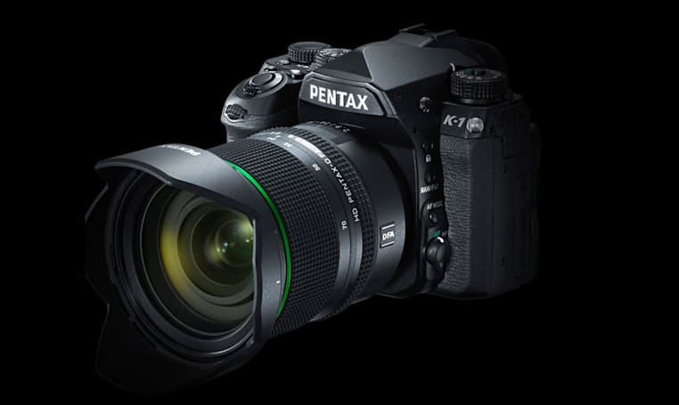 The Pentax K-1 is its first full-frame DSLR