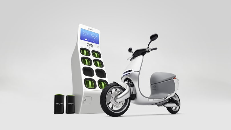 E-Scooters with swappable batteries will land in Taipei this summer
