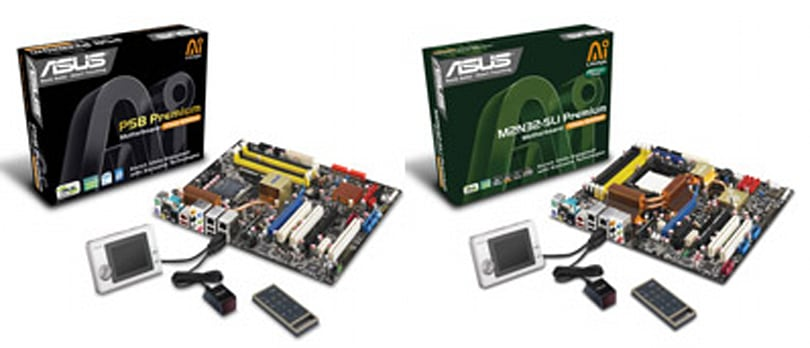 Asus intros SideShow-ready motherboards