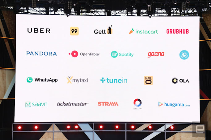 Google Assistant will talk to your favorite services
