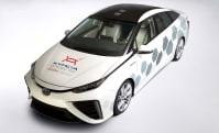 Kymeta's Toyota Mirai plays well with satellites