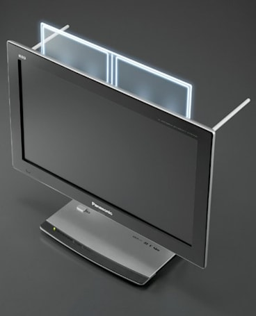 Panasonic delivers first LCD packing built-on Japanese HD DTV antennas