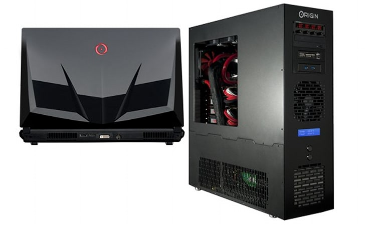 Origin PC boosts Genesis factory clock to 5.7GHz, reveals new EON gaming laptop design