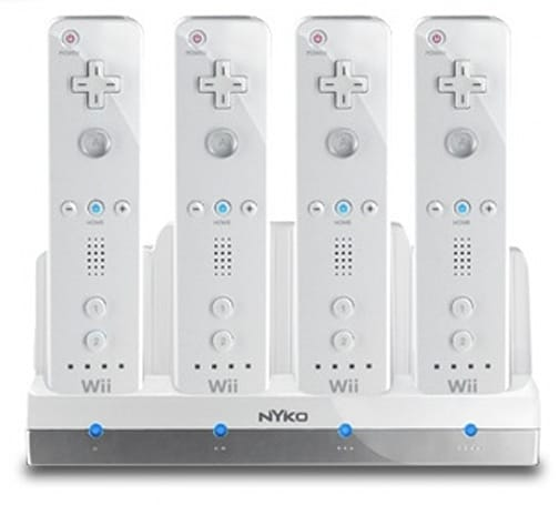 Nyko Charge Station Quad leaves no Wiimote uncharged