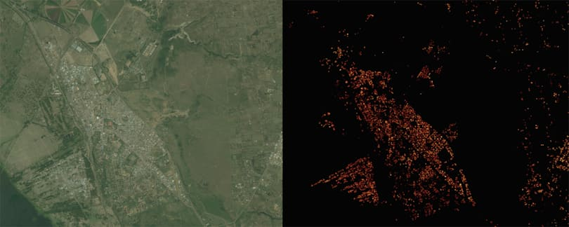 Facebook created a super-detailed population density map