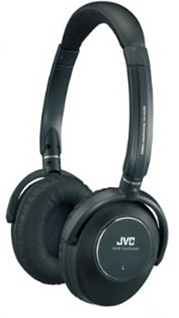 JVC's HA-NC250 noise-canceling headphones