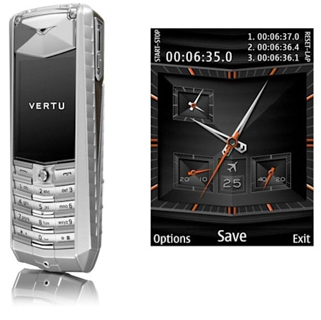 Vertu Ascent 2010: same pretension, new specs