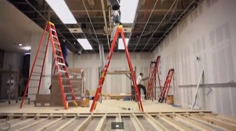 Internal Apple video shows construction of temp Apple Store at SXSW