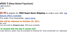 Mysterious Battlefield 3 paperback/eBook spotted online