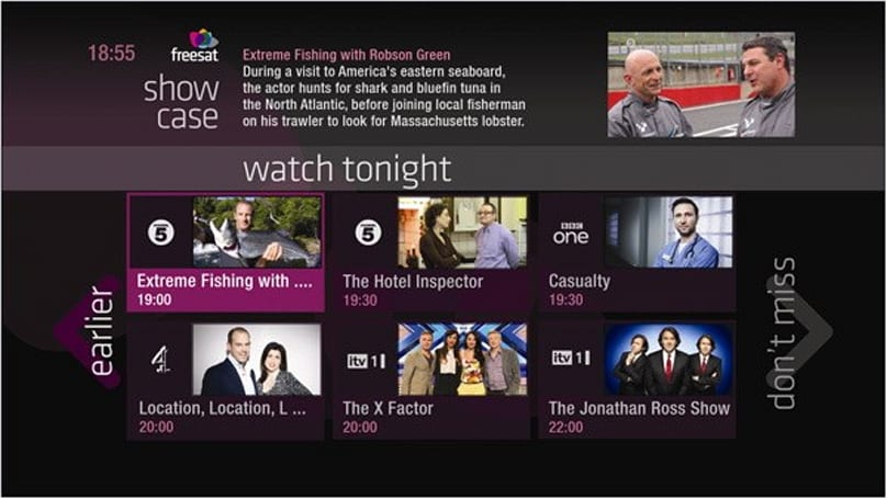 Freesat launches 'Free Time' TV Guide to help you waste yours
