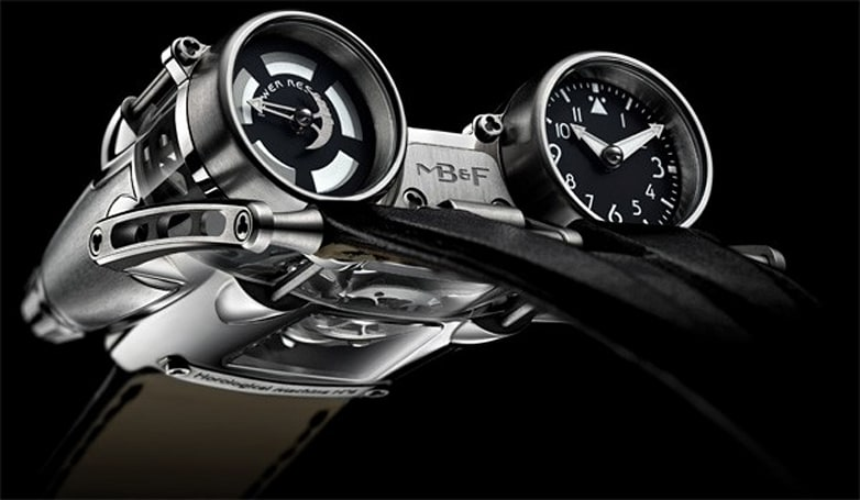 MB&F HM4 Thunderbolt considers legible time 'a fringe benefit' (video)