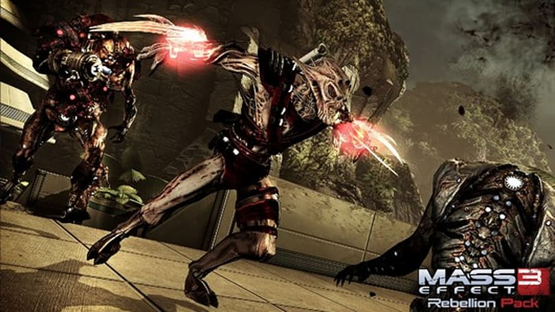 Mass Effect 3 'Rebellion Pack' DLC live on Xbox 360, PS3 and PC 'soon'