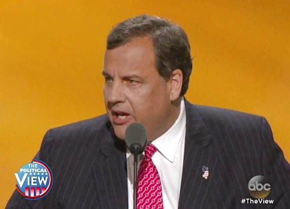 The View Recaps Night 2 of GOP Convention: Chris Christie Puts Hillary Clinton on Trial