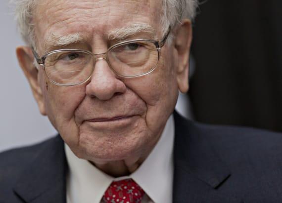 Buffett won't abandon investment in one company