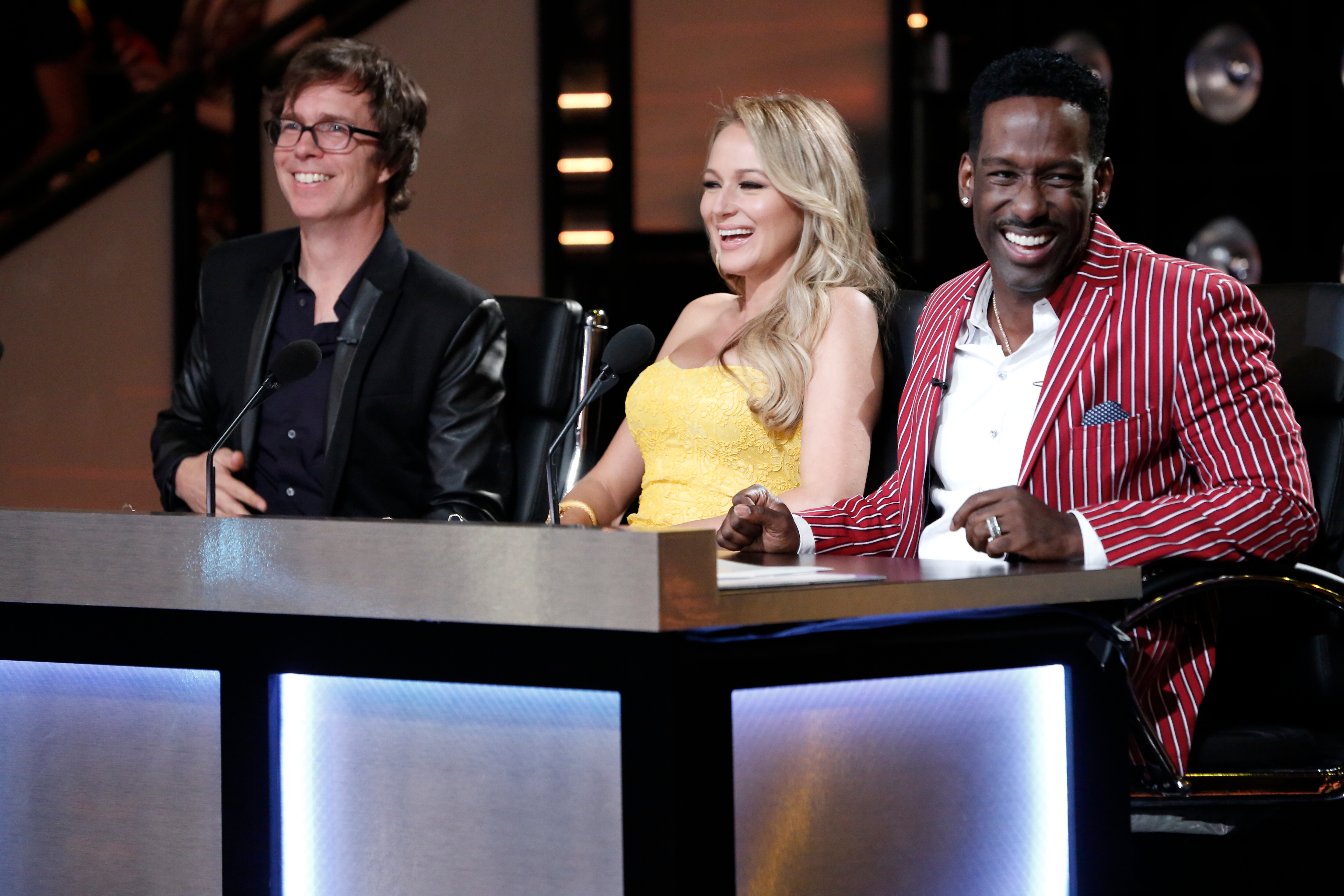 THE SING OFF -- Episode 401 -- Pictured: (l-r)  -- (Photo by: Tyler Golden/NBC)