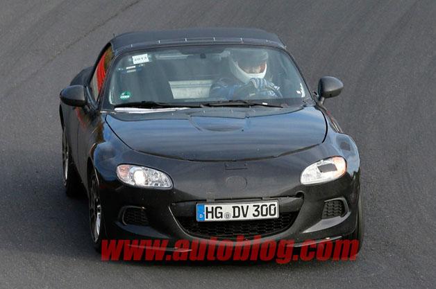 Mazda MX-5 test mule