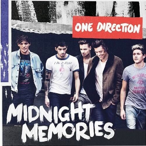 One Direction Midnight Memories biggest selling UK 2013