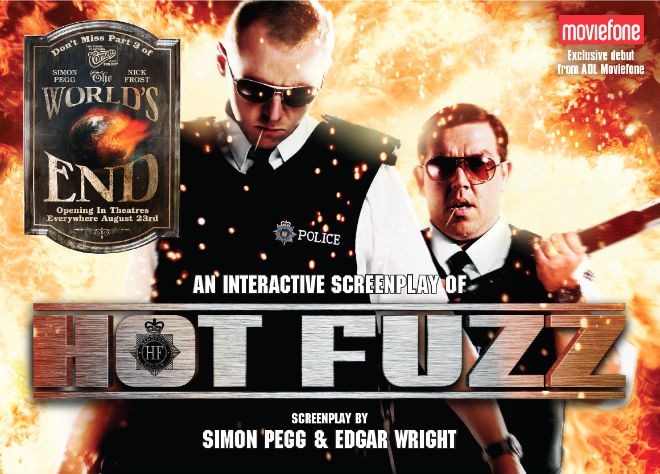 hot fuzz interactive screenplay