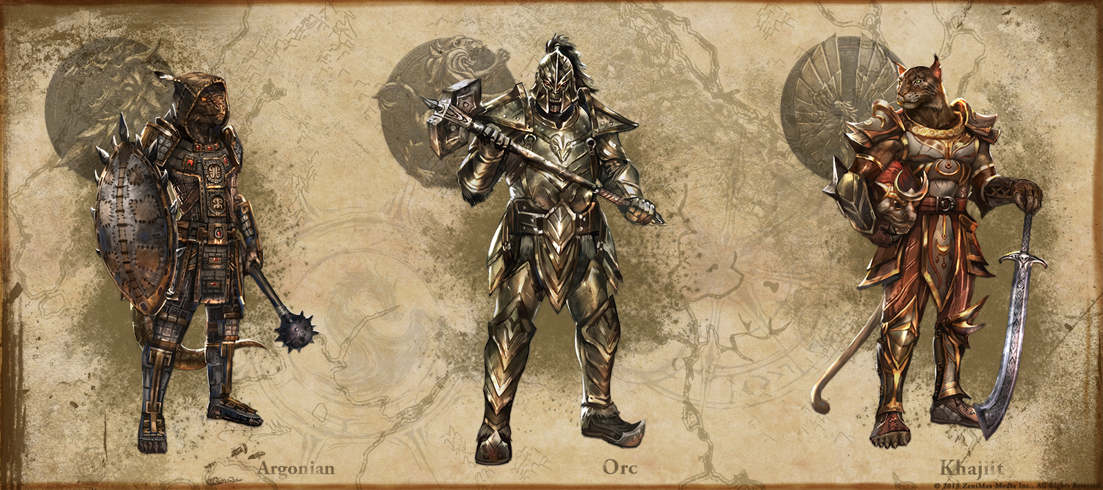 Elder Scrolls Online shows off heavy armor stylesElder Scrolls Online Argonian Armor