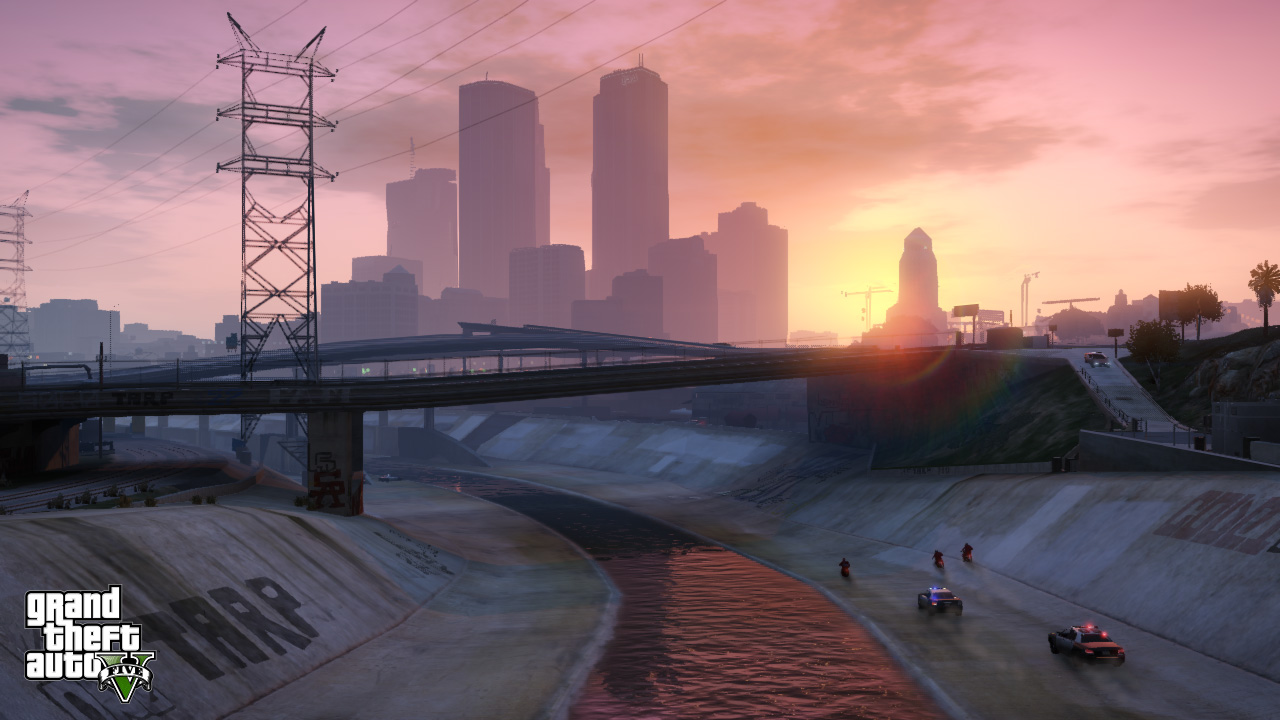 Watch A Gamer Drive Through GTA 5's Entire World