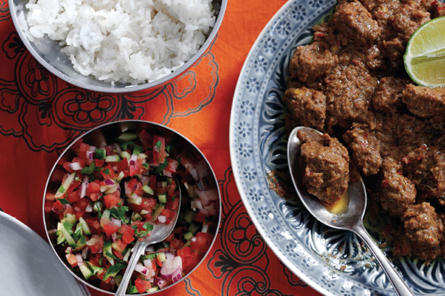 Recipe for beef rendang