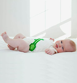 Intel Edison Smart Baby Onesie at CES 2014