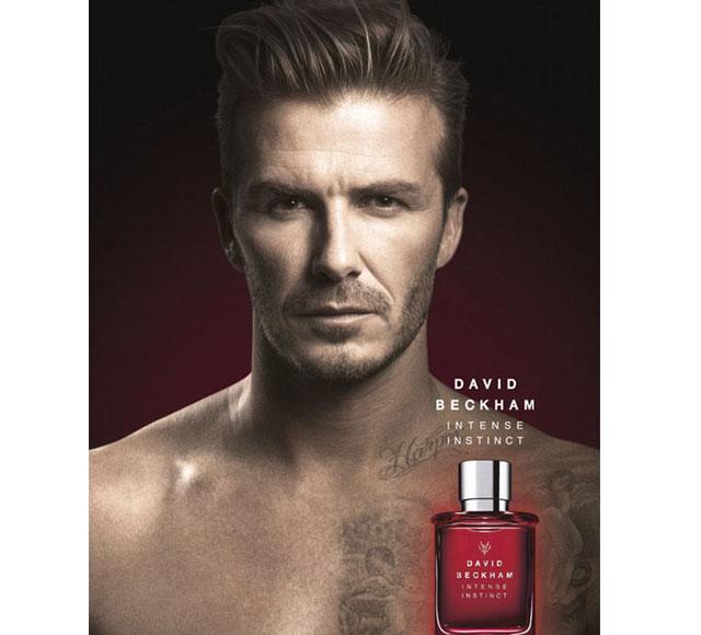 David Beckham topless