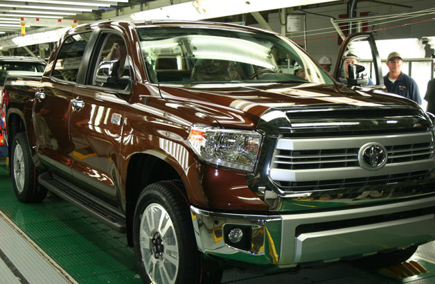 Toyota has produced its one-millionth truck in Texas