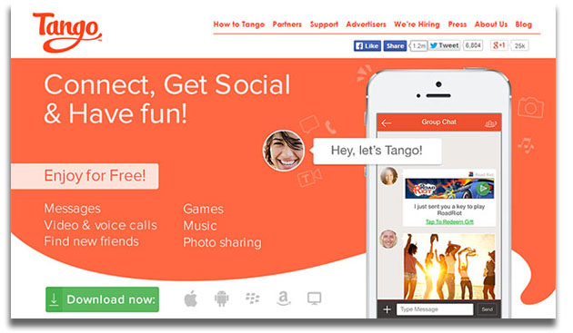 China's Alibaba bets $280 million on chat app Tango