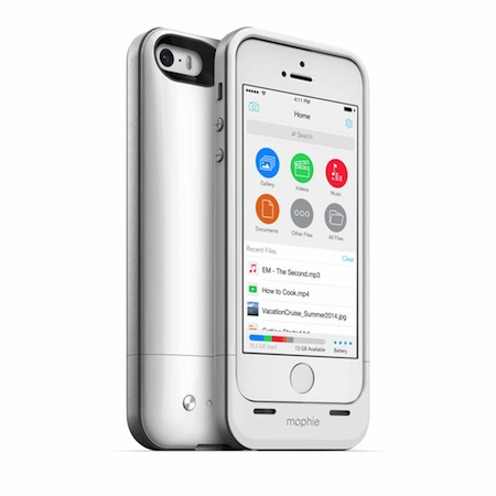 Mophie añade memoria interna a su nuevo Space Pack para iPhone 5S