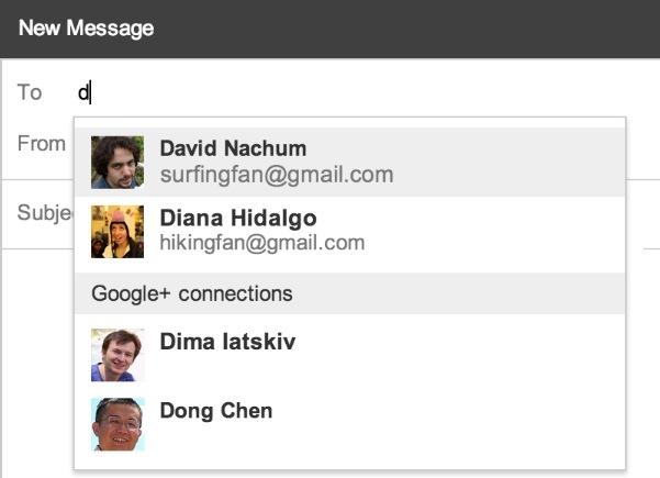 Gmail te permite ahora escribir a tus contactos de Google+ (pero no revelará tu dirección si no quieres)