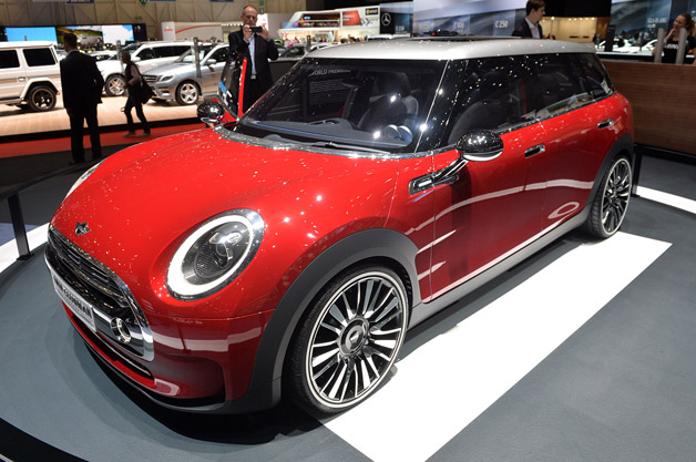 Mini Clubman Concept isn't mini, isn't a Clubman